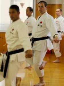 Bild: R. Schinck Training im JKA Headquarters Tokyo
