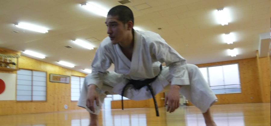 Bild: T. Taguchi Training im JKA Headquarters Tokyo